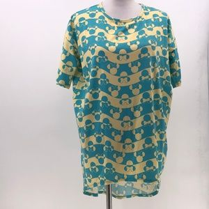 Lularoe Disney Irma tunic minnie mouse sz XXS